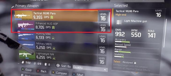 The Division: l'open beta include due nuove armi