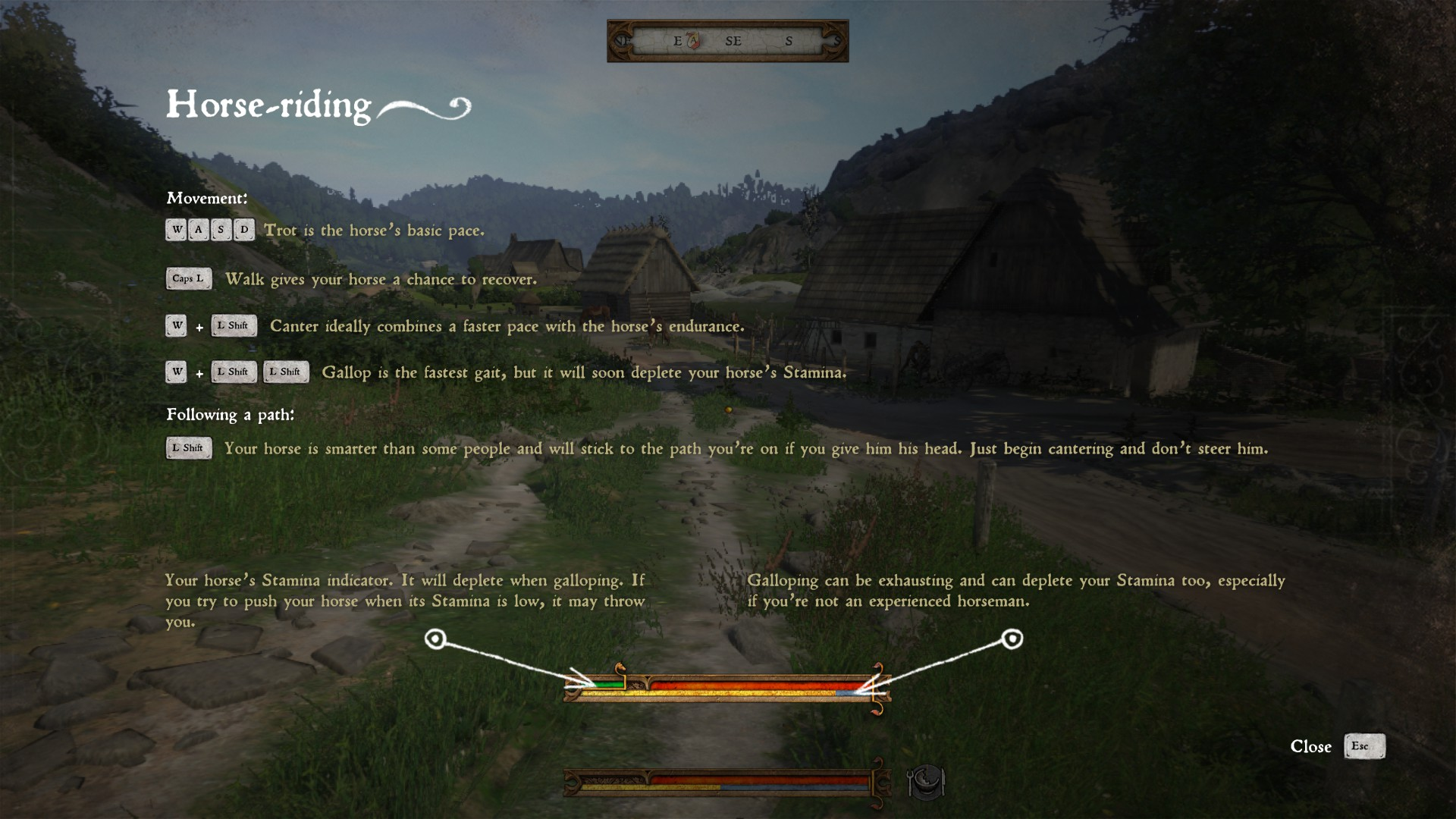 how to block kingdom come deliverance
