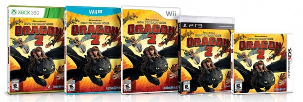 How to Train Your Dragon 2 in arrivo su Wii U, 3DS, Wii, PS3 e Xbox 360