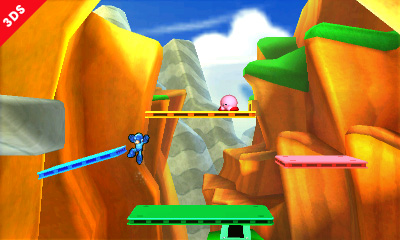 Super Smash Bros: nuove immagini per lo stage di Super Mario 3D Land