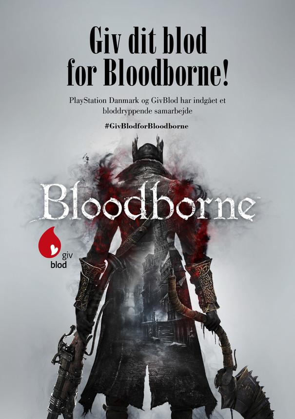 Copie gratuite di Bloodborne a chi dona il sangue in Danimarca