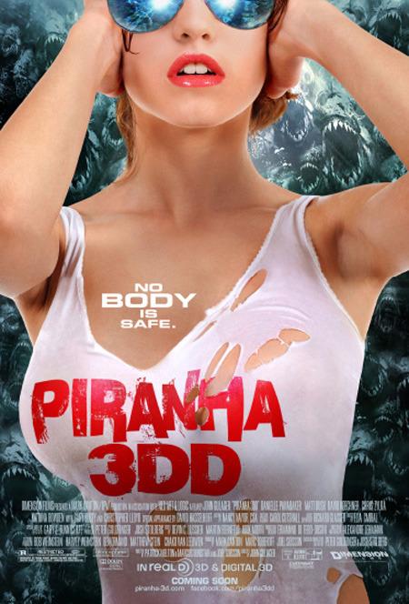 Piranha 3DD: un nuovo poster