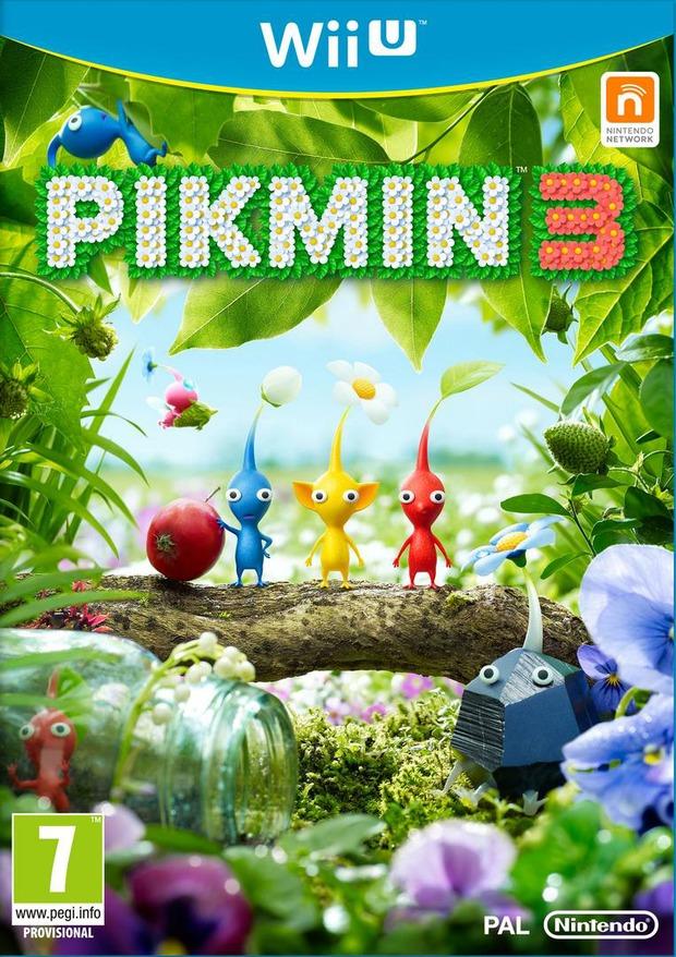 Pikmin 3: la cover ufficiale