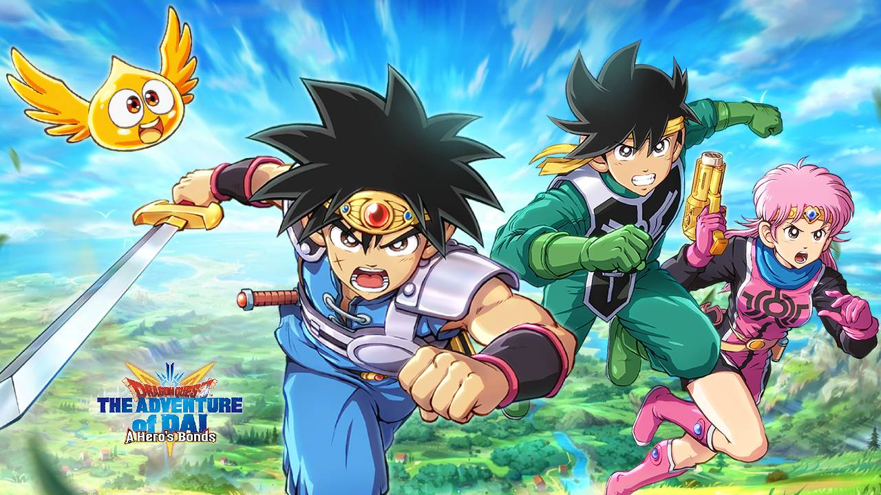 Dragon Quest The Adventure Of Dai A Hero's Bonds: prodi guerrieri su mobile