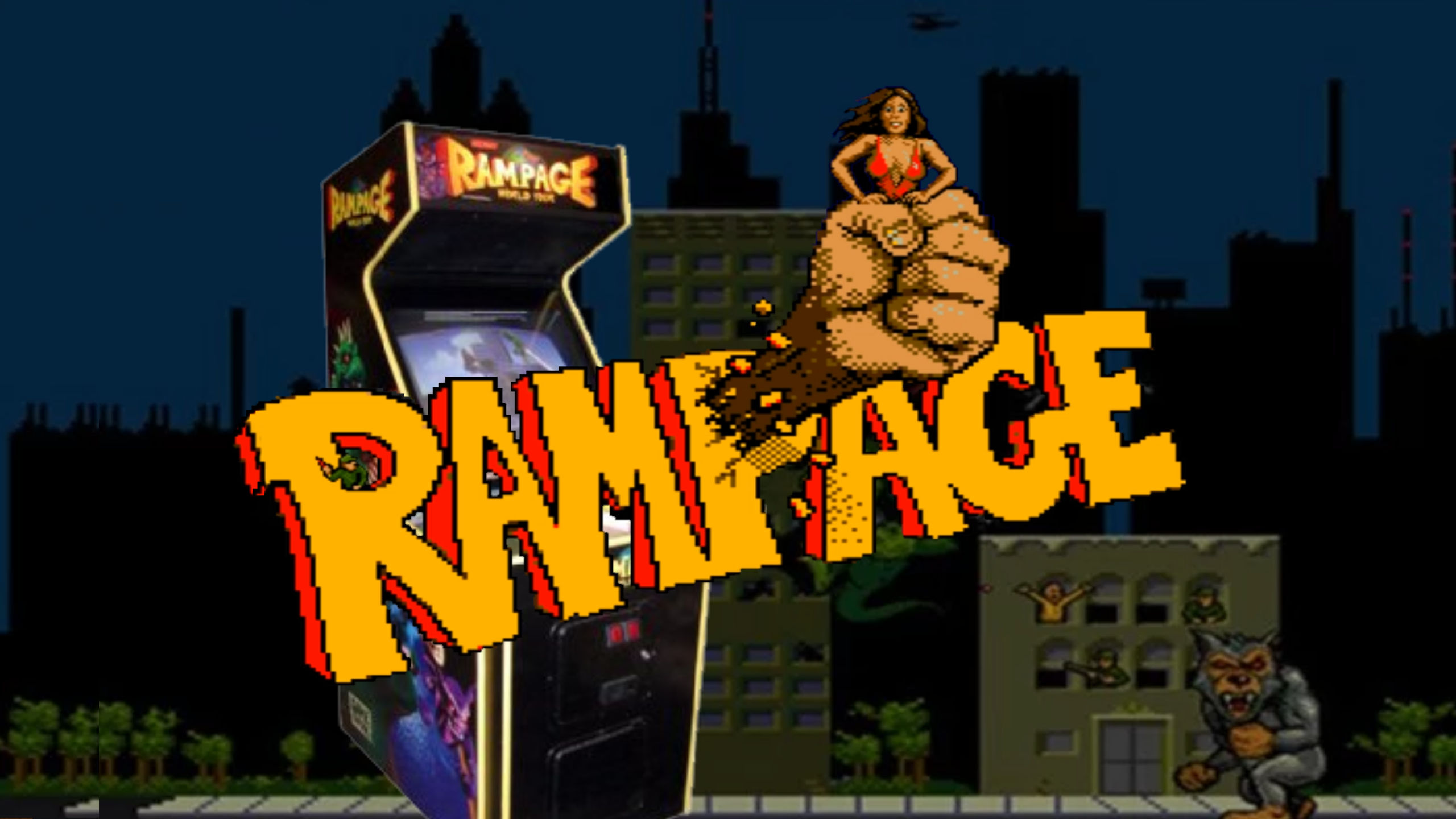 rampage arcade rom