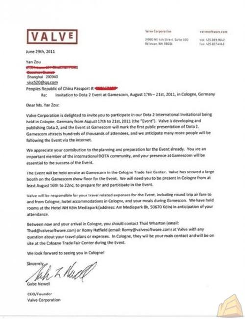 DOTA 2 confermato al Gamescom 2011 con tanto di primo torneo ufficiale?