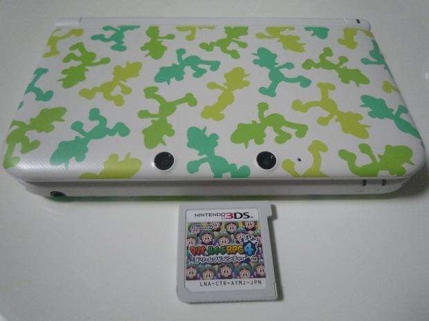 Nintendo 3DS XL: foto della Special Edition di Luigi