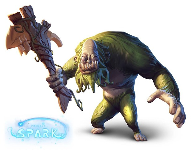 Il Troll si mostra in Project Spark