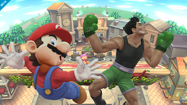 Super Smash Bros: screenshot tratto dalla versione Wii U