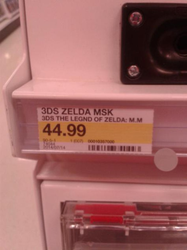 The Legend of Zelda: Majora's Mask svelato accidentalmente da Target?