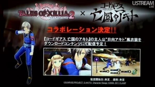Tales of Xillia 2: annunciati i costumi di Code Geass: Akito the Exiled come DLC