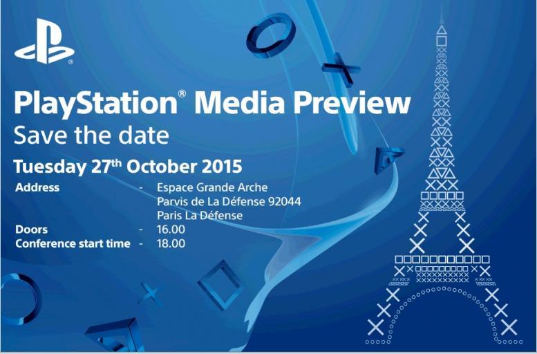 Sony conferma la propria conferenza per la Paris Games Week