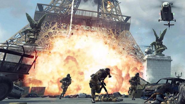 Call of Duty Modern Warfare 3: la Tour Eiffel sotto attacco!