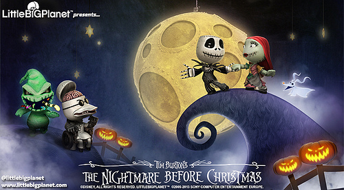 Little Big Planet: in arrivo il livello Nightmare Before Christmas