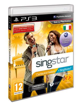 SingStar - Cantautori Italiani in arrivo il 1° Dicembre