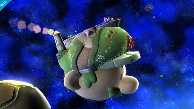 Super Smash Bros Wii U: un'altra immagine per lo stage dedicato a Mario Galaxy