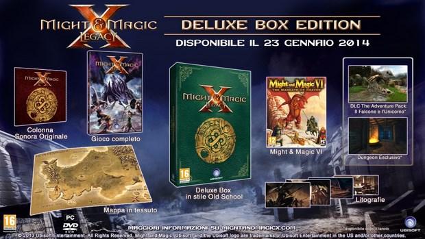 Might and Magic X Legacy sarà disponibile dal 23 gennaio
