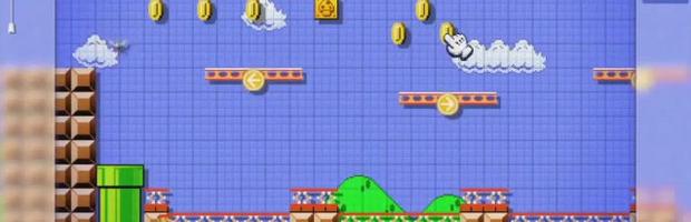 Mario Maker: I livelli potranno essere condivisi tramite Internet - Notizia