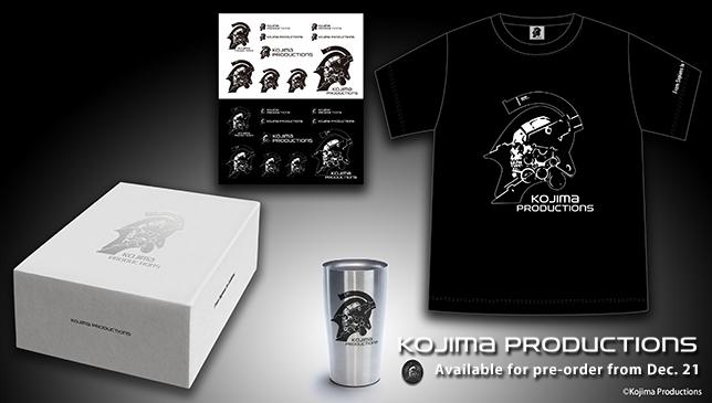 [Aggiornata] Kojima Productions: aperto lo store ufficiale con magliette, tazze, adesivi