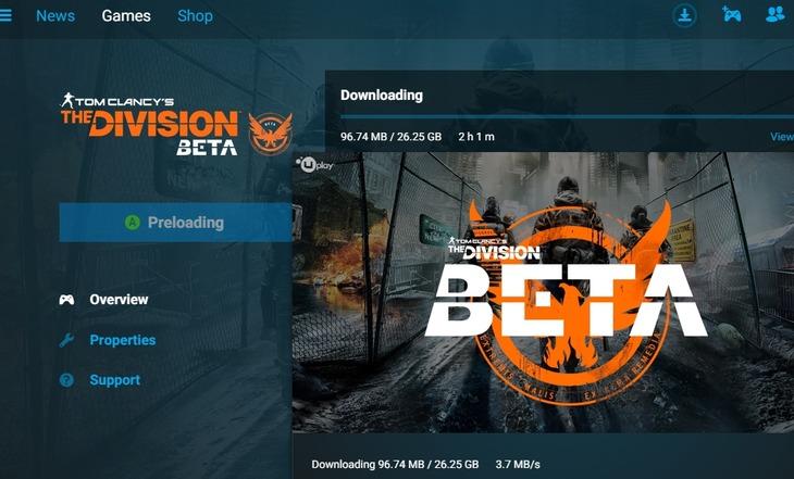 The Division: svelato il peso della beta per PC