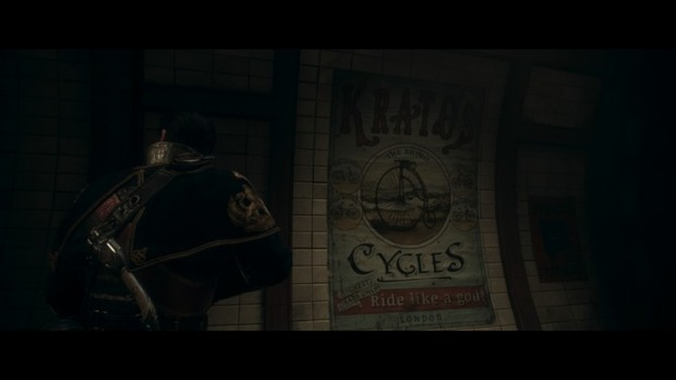 Scoperto un easter egg dedicato a God of War in The Order 1886