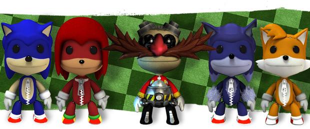 Little Big Planet, arrivano i costumi di Sonic The Hedgehog