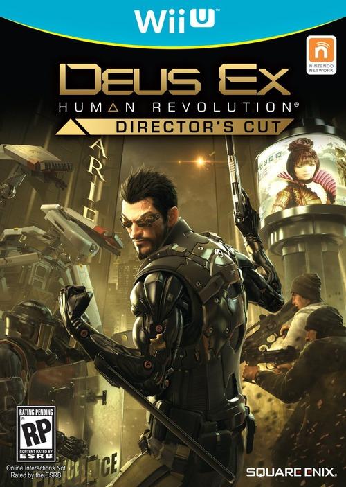 La versione Wii U di Deus Ex Human Revolution appare su Amazon, con tanto di copertina
