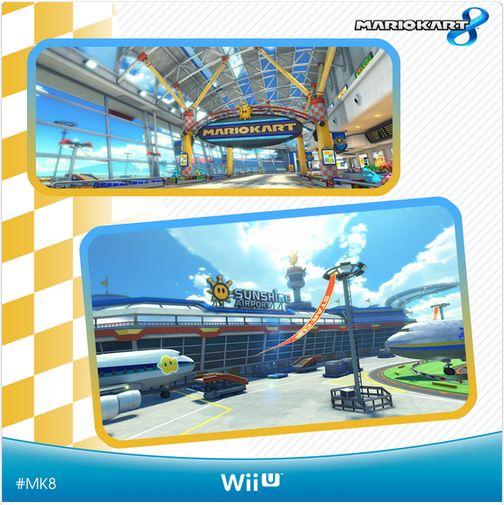 Mario Kart 8: immagini dal Sunshine Airport