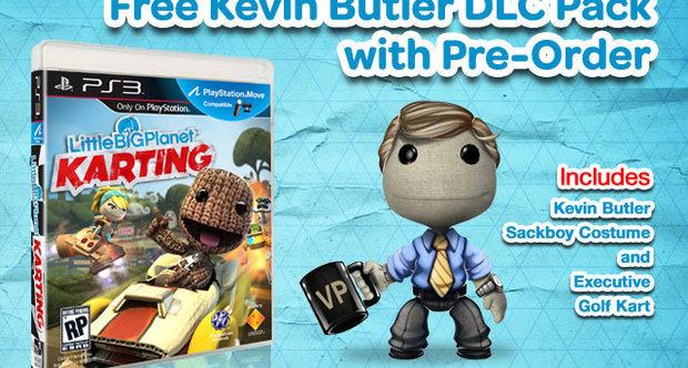 LittleBigPlanet Karting: Kevin Butler come bonus pre-ordine