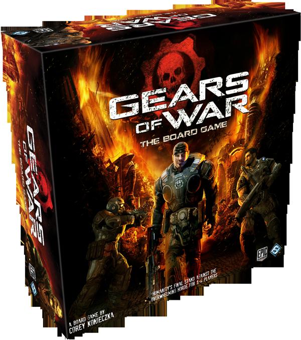 Gears of War: il gioco da tavolo ufficiale