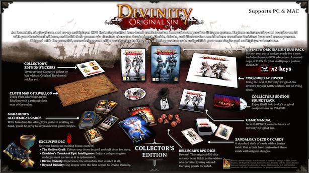 Divinity Original Sin: annunciata la collector's edition