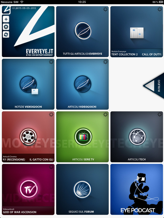 Everyeye App per iPad, scaricatela!