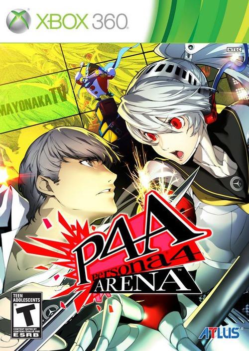 Persona 4 Arena: nuove immagini e boxart USA