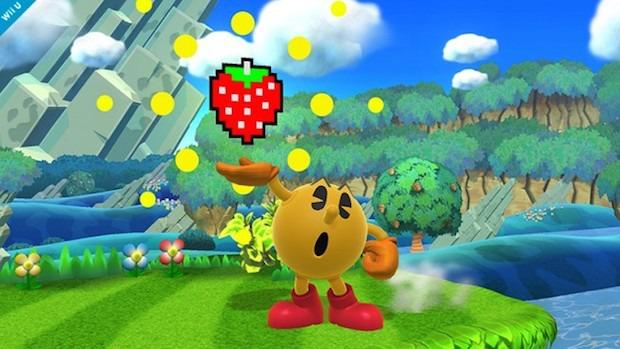 Super Smash Bros: screenshot dedicato a Pac-Man