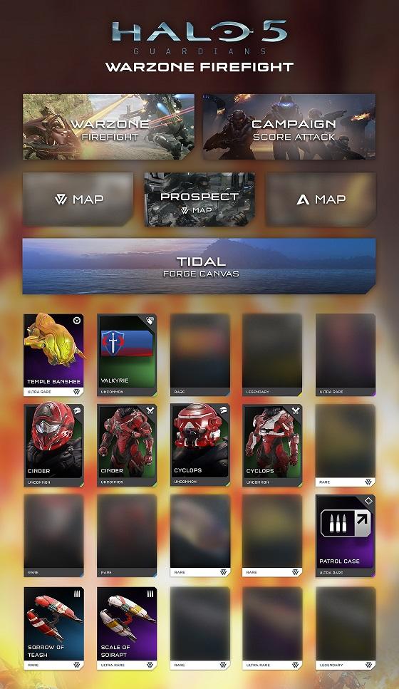 Halo 5 Guardians: il nuovo update di Warzone nel dettaglio