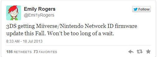Nintendo 3DS: l'aggiornamento Miiverse e Nintendo Network in autunno?
