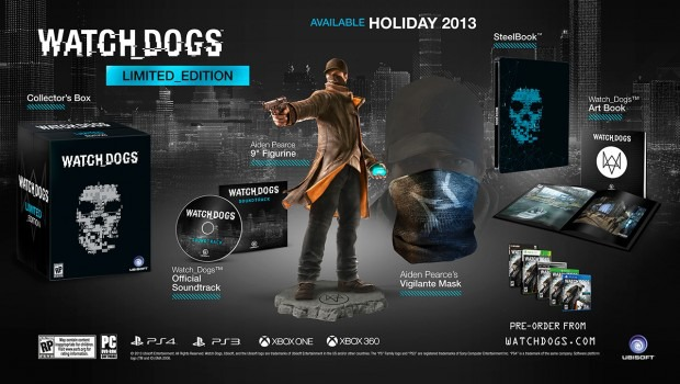 Watch Dogs: mostrata la Limited Edition USA
