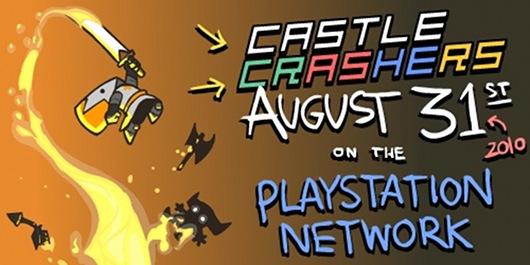 Castle Crashers su PS3 a partire dal 31 agosto