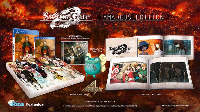 Steins;Gate 0 Amadeus Edition annunciata per l'occidente