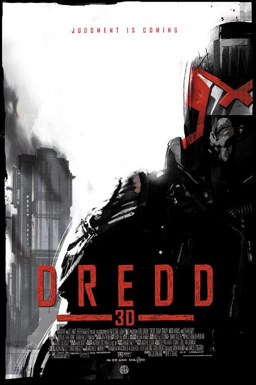 Dredd: un nuovo poster in stile fumettistico
