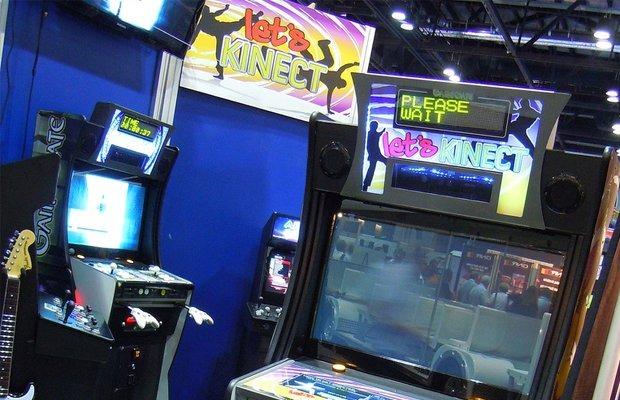 Kinect in un cabinato arcade