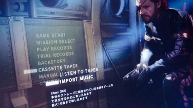 Metal Gear Solid V: Ground Zeroes  - sarà possibile importare la propria soundtrack personalizzata