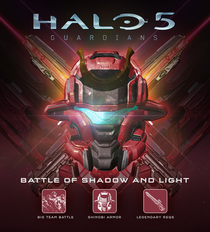 Halo 5 Guardians: disponibile l'espansione gratuita Battle of Shadow and Light