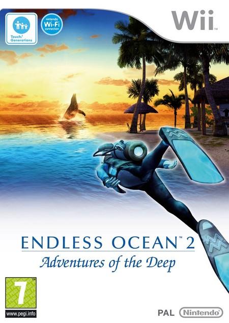 Endless Ocean 2: Avventure negli Abissi, boxart europea