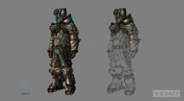 Nuovi concept-art di Dead Space 3 mostrano armature e armi