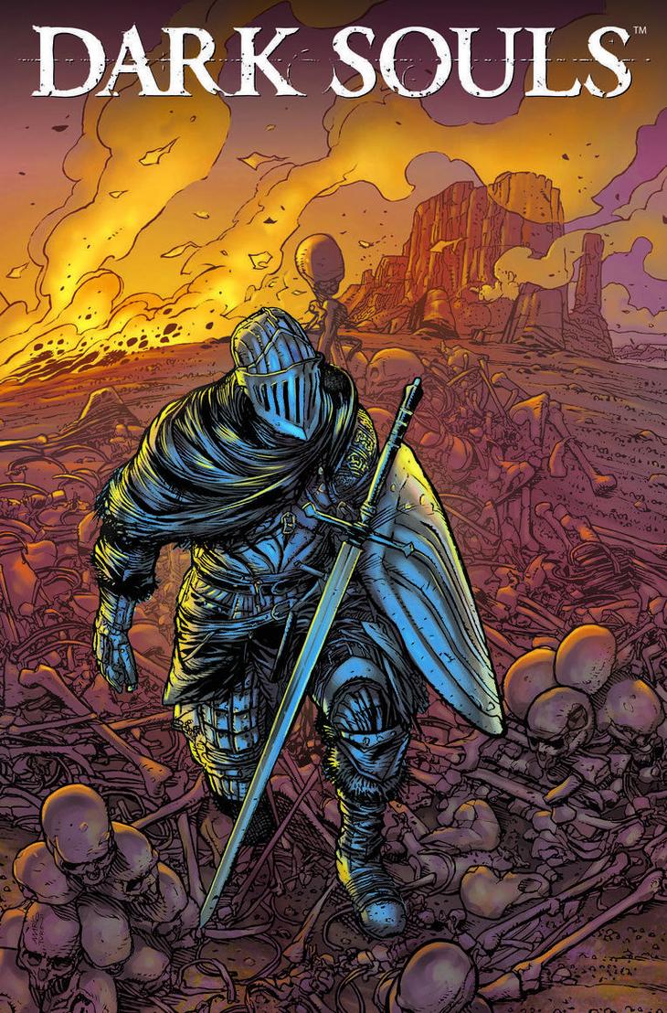 Dark Souls: il primo numero del fumetto ufficiale uscirà ad aprile