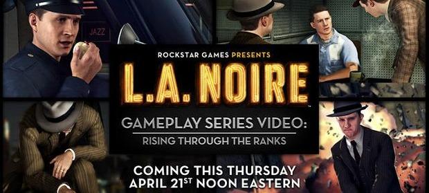 LA Noire: Giovedì 21 Aprile un nuovo trailer gameplay