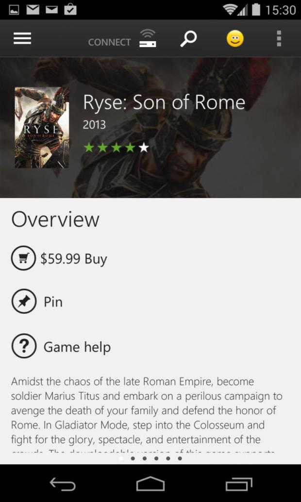 Xbox One SmartGlass, in arrivo un'opzione per acquistare giochi da mobile?