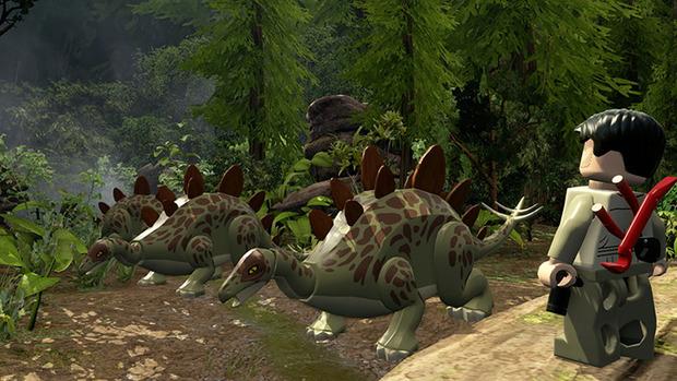 I dinosauri la fanno da padrone nelle nuove immagini di LEGO Jurassic World