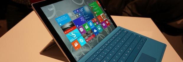 Il Surface Pro 3 vende bene nel Regno Unito - Notizia
